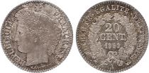 France 20 Centimes Ceres - II e Republique - 1851 A Paris