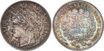 France 20 Centimes Cérès 1850 A Paris Argent - 3 e ex