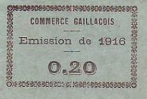 France 20 Centimes Gaillac