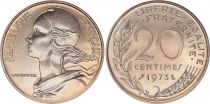 France 20 Centimes Marian - 1973 - UNC