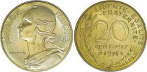 France 20 Centimes Marianne - 1971 issu de coffret
