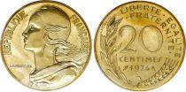France 20 Centimes Marianne - 1974 issu de coffret