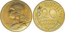 France 20 Centimes Marianne - 1981 issu de coffret