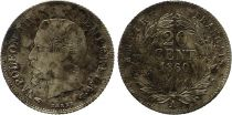France 20 Centimes Napoleon III - 1860 A Paris Silver