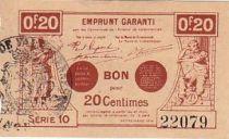 France 20 Centimes Valenciennes