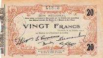 France 20 F Fourmies - 44896 - 24/10/1915