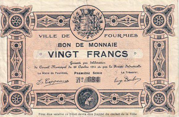 France 20 F Fourmies