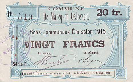France 20 F Marcq-En-Ostrevent