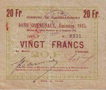 France 20 F Raimbeaucourt