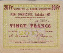 France 20 F Roost-Warendin