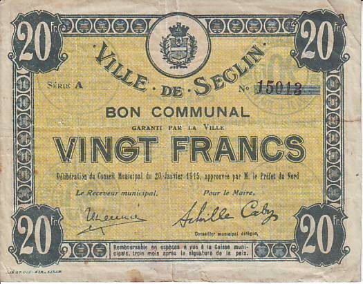 France 20 F Seclin
