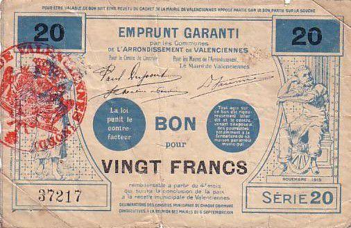 France 20 F Valenciennes