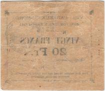 France 20 Francs Arleux City - 1915