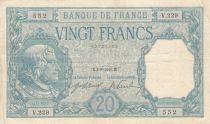 France 20 Francs Bayard - 04-08-1916 Série V.229 - TTB