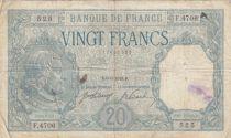 France 20 Francs Bayard - 06-06-1918 Serial F.4706 - Fine