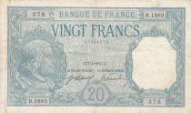 France 20 Francs Bayard - 07-04-1917 Série R.1883 - TTB