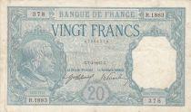 France 20 Francs Bayard - 07-04-1917 Série R.1883 - VF - P.74