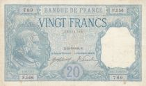 France 20 Francs Bayard - 22-09-1916 Serial F.556 - VF