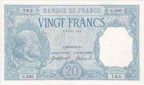 France 20 Francs Bayard - 29-08-1916 Série U.390