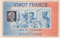 France 20 Francs Bon de Solidarité - 1941-1942