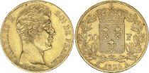 France 20 Francs Charles X - 1828 A - Gold