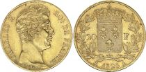 France 20 Francs Charles X - 1828 A - Or