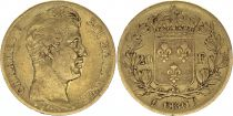 France 20 Francs Charles X - 1830 A - Gold