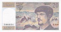 France 20 Francs Debussy - 1987 Série E.018 - NEUF