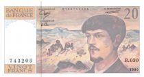France 20 Francs Debussy - 1990 Série B.030 - NEUF