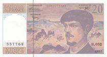 France 20 Francs Debussy - 1997 - Série H.052