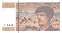 France 20 Francs Debussy - 1997 Serial B.056 - aUNC