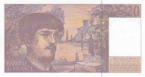 France 20 Francs Debussy - 1997 Série M.61 - Neuf