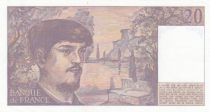 France 20 Francs Debussy - K.022 - 1987