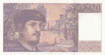 France 20 Francs Debussy - T.039 - 1993