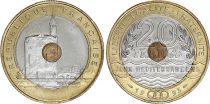 France 20 Francs Jeux Méditerranéens - 1993 - BIMETAL - SUP+