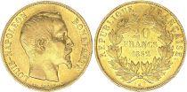 France 20 Francs Louis Napoléon Bonaparte  - 1852 A Paris Or