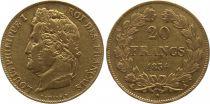 France 20 Francs Louis-Philippe 1er - 1834 A