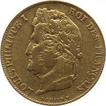 France 20 Francs Louis-Philippe 1er Tête Laurée - 1834 A