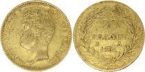France 20 Francs Louis-Philippe I 1831 A - Or Tranche en creux