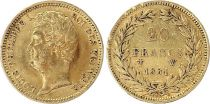 France 20 Francs Louis-Philippe I 1831 W Lille - Or - rare