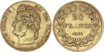 France 20 Francs Louis Philippe Ier TL 1840 A - Or  3 em ex