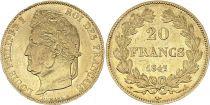 France 20 Francs Louis Philippe Ier TL 1847 A