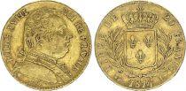 France 20 Francs Louis XVIII - 1814 L Bayonne - Gold