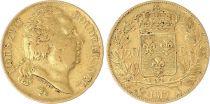 France 20 Francs Louis XVIII - 1817 A Or