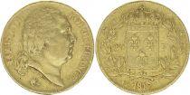 France 20 Francs Louis XVIII - 1817 L Bayonne