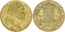 France 20 Francs Louis XVIII - 1820 Q Perpignan