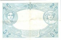 France 20 Francs Mercury and woman seated - 1906