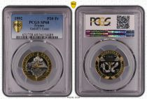 France 20 Francs Mont Saint-Michel - 1992 Essai - PCGS SP 68