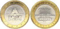 France 20 Francs Mont Saint-Michel - Essai of Coin Pessac 1992