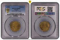 France 20 Francs Morlon - 1950 - Essai - PCGS SP 65